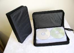 JS72 Nylon CD WALLET, 72 CDs 10 PCS/CS