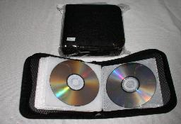 JS70 Nylon CD WALLET, 24 CDs 10 PCS/CS