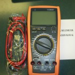 New VICTOR 4 1/2 Digital Multimeter, VC9806+