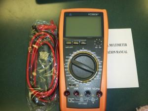 New VICTOR 4 1/2 Digital Multimeter, VC9806+