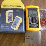 NEW DIGITAL MULTIMETER W/CAPACITANCE TEST, VC890D