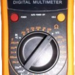 New Digital Multimeter w/Capacitance Test RA70B