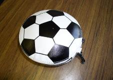 SOCCER BALL - 24-CD/DVD SPORTS LEATHERETTE WALLET