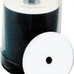 TAIYO YUDEN DVD+R, WHITE INKJET HUB PRINTABLE, 8X, DVD+R47WPP600SK, 100 PCS