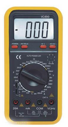 Digital Multimeter w/capacitance Test VC890