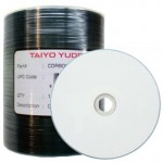 TAIYO YUDEN TY CD-R WHITE THERMO EVERST HUB PRINTABLE,52X,CDR80WPT600SK,100PCS