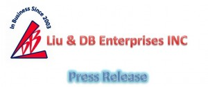 Liu & DB Enterprises INC - Press Release