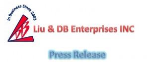 Liu & DB Enterprises INC - Press Release