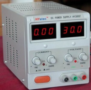Variable Single Output Dual Display DC Power Supply 30V 5A HY-3005D