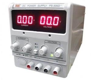 REK PS305D+ LINEAR DC POWER SUPPLY