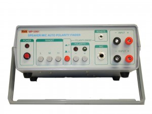 Speaker/Microphone Automatic Polarity Tester