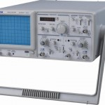 New CQ620CF 20Mhz Analog Oscilloscope w/frequency Counter