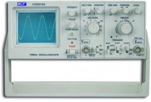 CQ5010A Single Channel Osilloscope 10MHz, 5Mv/DIV